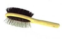 Inne szczotki Mała, owalna szczotka dwustronna - włos i szpilki